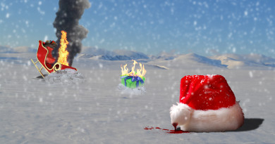 SantaShotDown