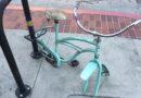 In Memoriam: Locked Up, Dismantled Bikes