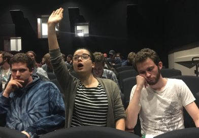 Annoying Girl at Improv Show Worried She's Not Center of Attention