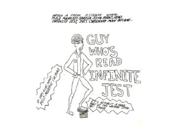 Sack Superhero #1: Guy Who's Read Infinite Jest