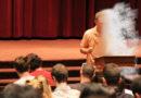 Dr. Drew Casper Dissolves into Silver Mist Mid-Lecture, Ascends Beyond Mortality