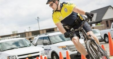 bicycle cop