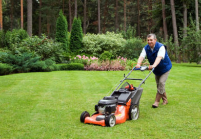 Local Man Mows Lawn Like He Doesn't Have a Second Family