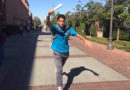 Student Running to Class Gripping Freshly Printed Essay Like It's the Goddamn Olympic Torch