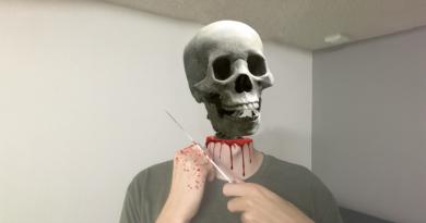 Last Minute DIY Skeleton Costume!