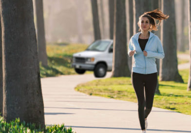 Female Jogger Breaks Personal Record for Most Miles with Van Following